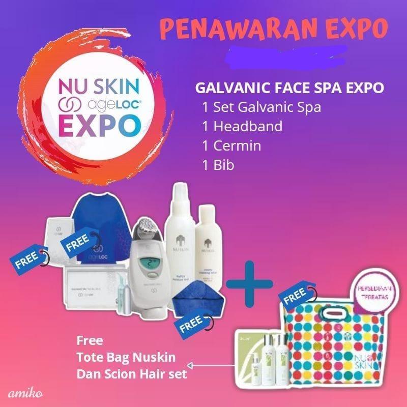Promo Galvanic Spa free Hadiah