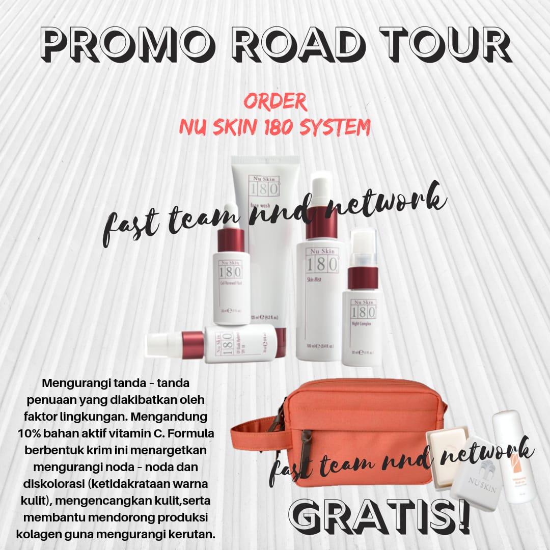 Promo Nuskin 180 System Skincare - pusatskincare.com