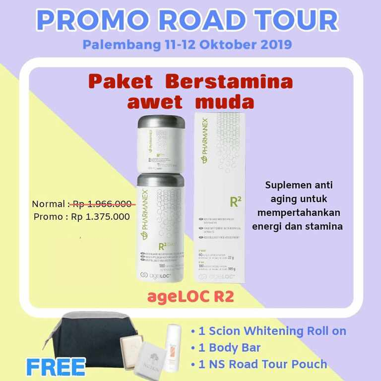 Promo R2 Nuskin Pharmanex
