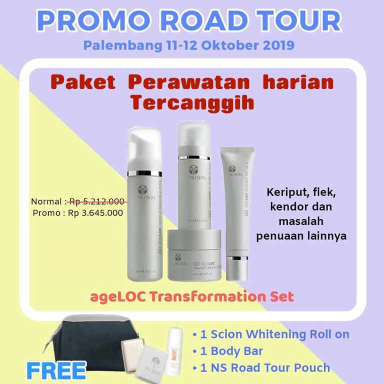 promo nuskin paket transformation set