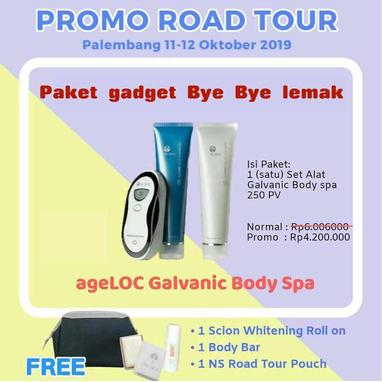 Promo Galvanic Spa Body Nuskin