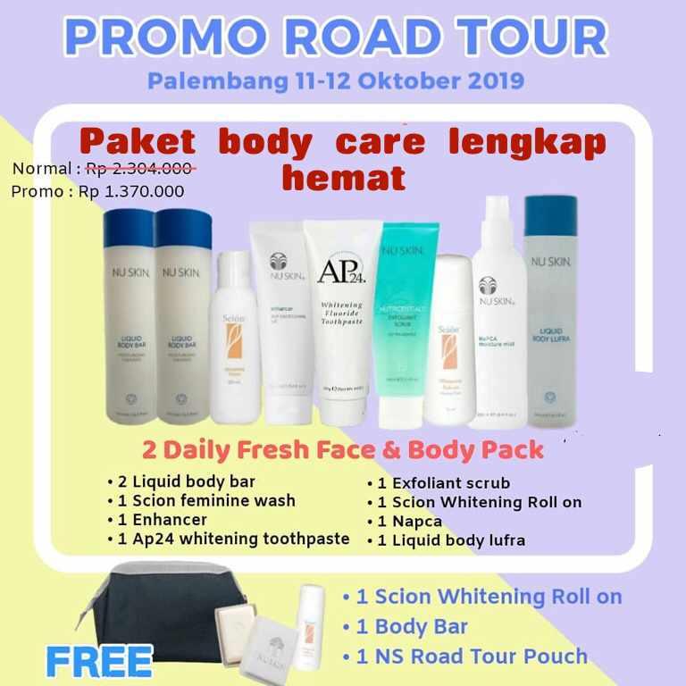 Paket Promo BodyCare Nuskin