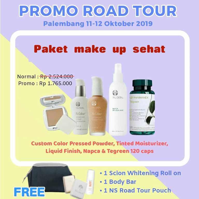 Promo Paket MakeUp Daily Nuskin